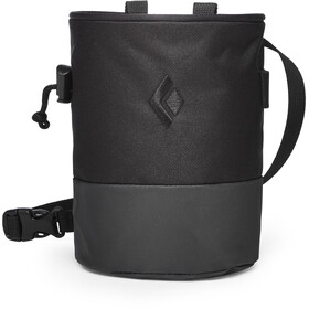 Black Diamond Mojo Zip Sacchetto porta magnesite S/M, black-slate